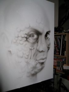 New Airbrush Canvas Started