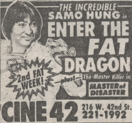 Enter The Fat Dragon-Master Of Disaster Ad Mat
